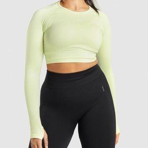 Flex Sports Long Sleeve Crop Top